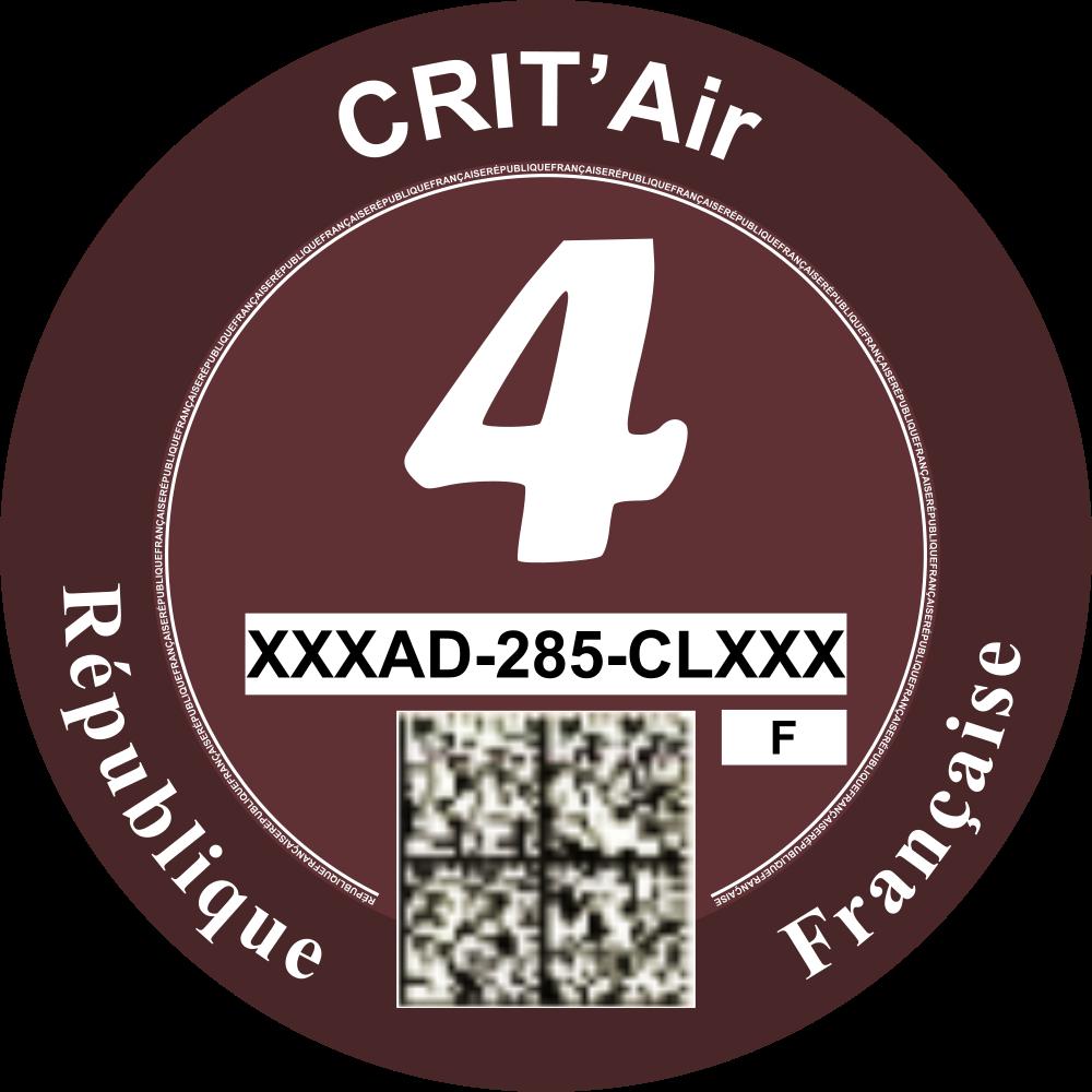 Critair voor Frankrijk categorie 4