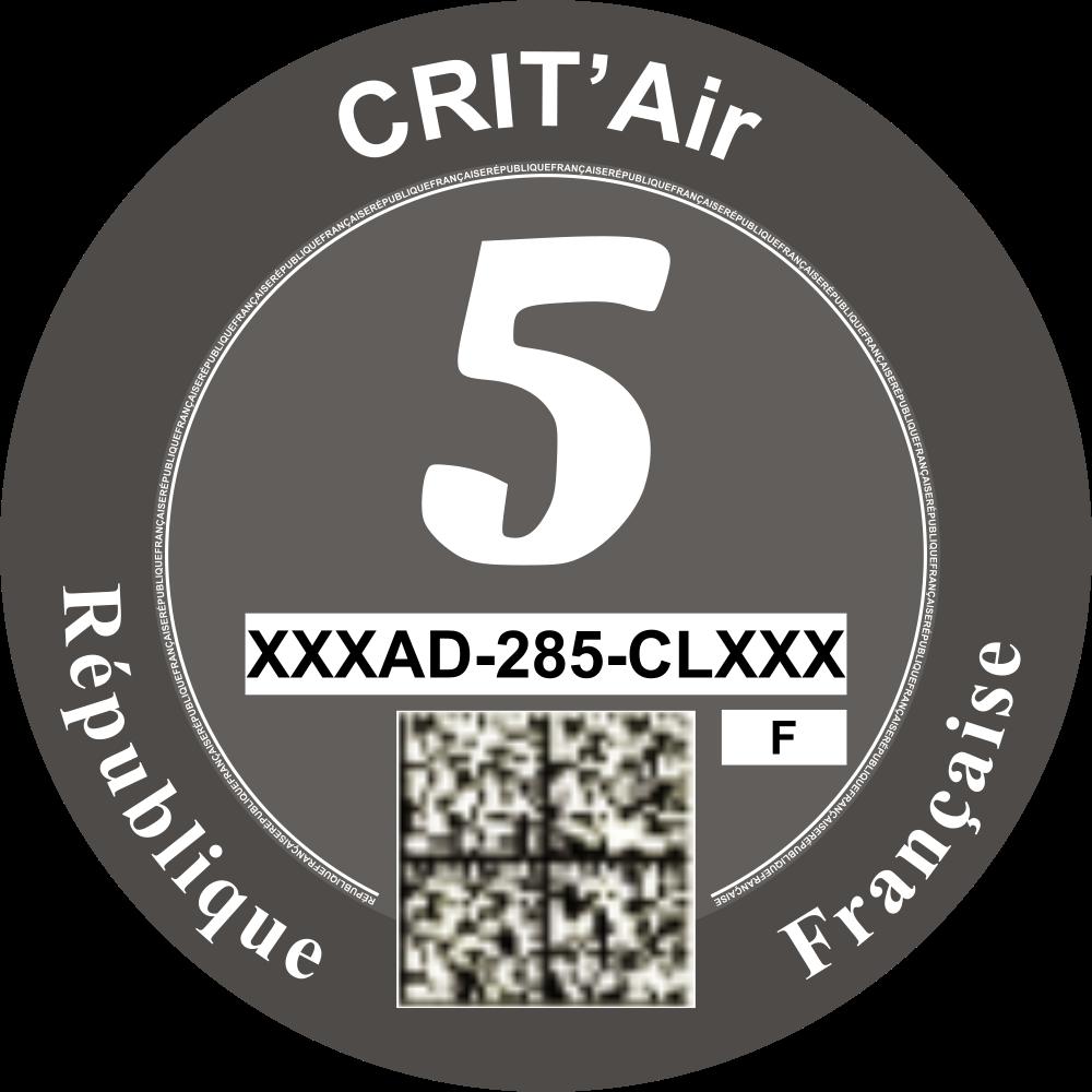 Critair voor Frankrijk categorie 5