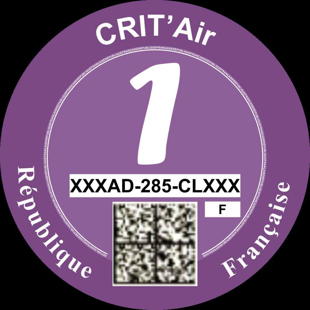 Critair voor Frankrijk categorie 1
